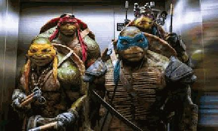 Teenage Mutant Ninja Turtles, Movie in 2014