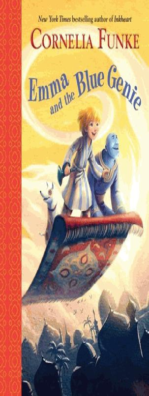 Book, Emma and the Blue Genie