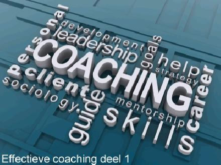 Effectieve coaching deel 1