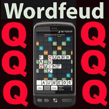 Wordfeud woorden met een q