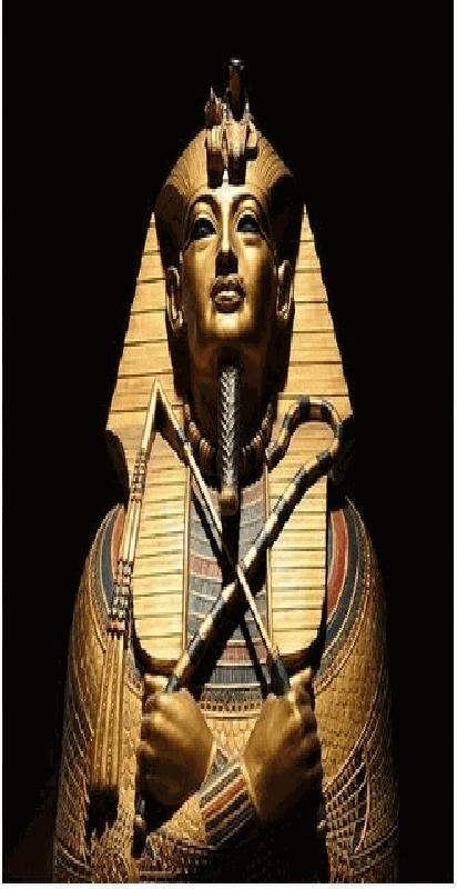 Pharaoh met Ankh