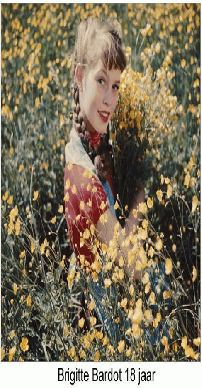 Brigitte Bardot 18 jaar