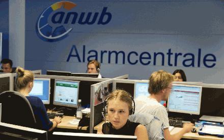 Paniek telefoontjes bij ANWB