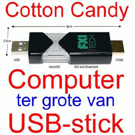 Coton Candy mini computer